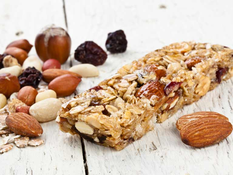 Healthy nut bar