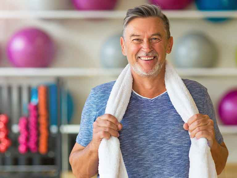 Resistance training (strength training or weights) is the first step to get the ageing effects of our muscles under control.