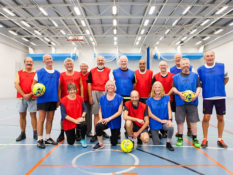 Folkestone Walking Football team