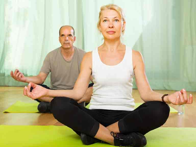 Yoga For Knees Saga