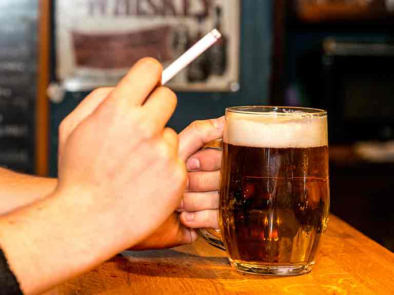 If your parents drank and smoked, are you more likely to follow suit?