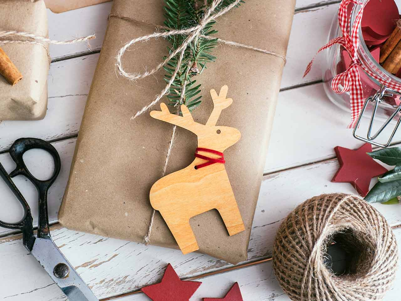 Christmas card and decoration making materials