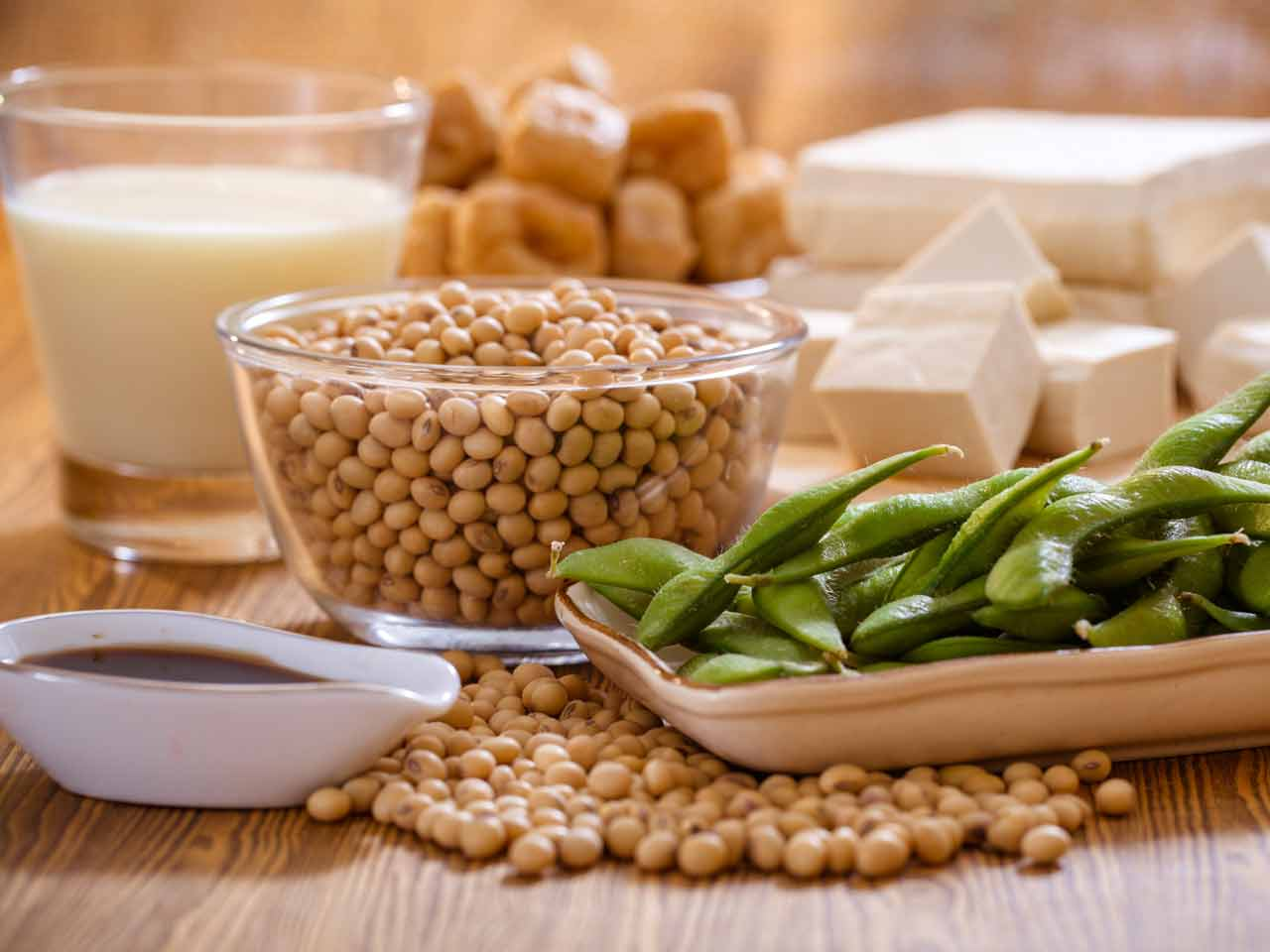 You can naturally increase your oestrogen levels by eating plenty of soya