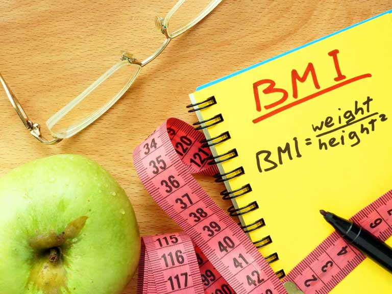 Healthy measure could include your BMI