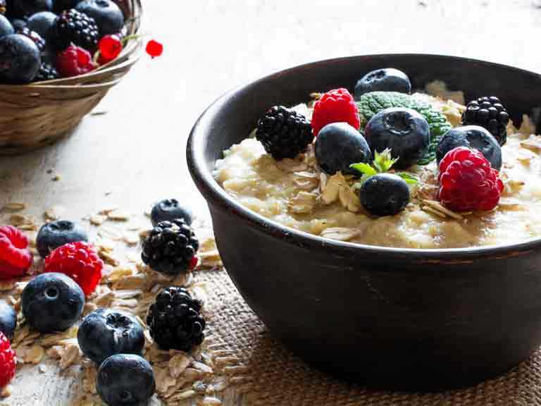 Boost your energy in winter with porridge