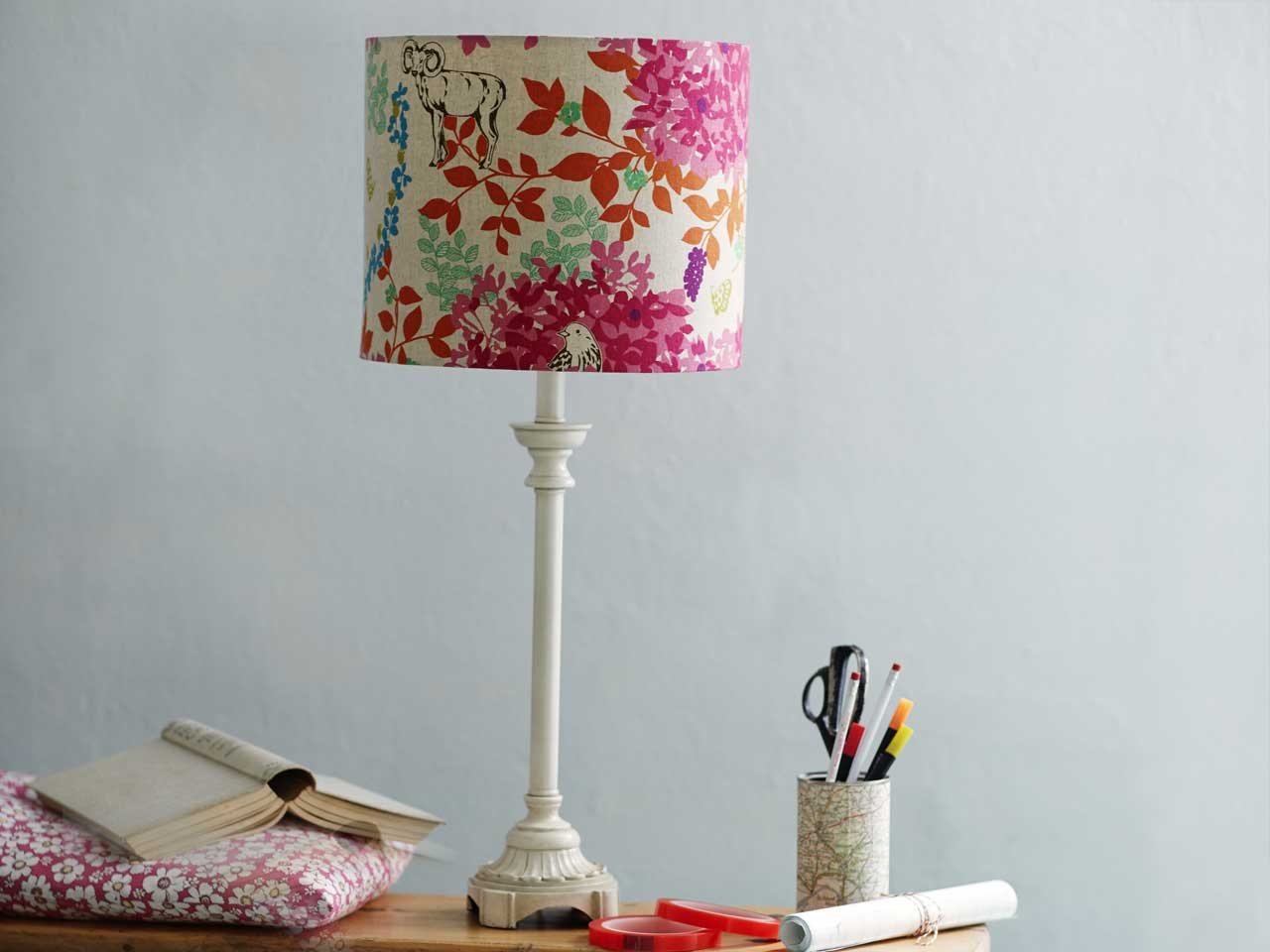 How to make a drum lampshade saga drum lampshade mozeypictures Gallery
