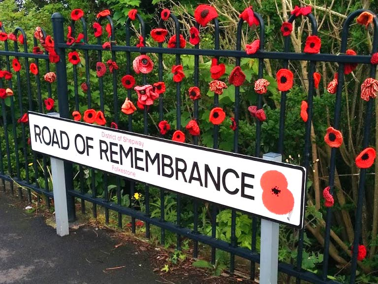 Road of Remembrance, Folkestone