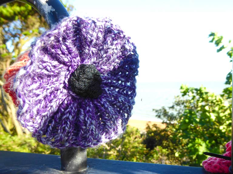 Knit Or Crochet A Poppy In Memory Of The Fallen Saga