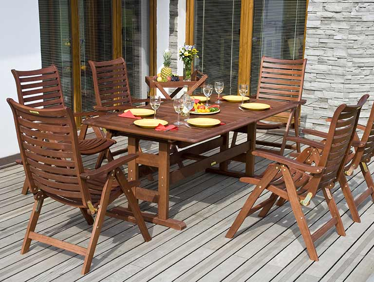 How To Clean Wooden Garden Furniture Saga