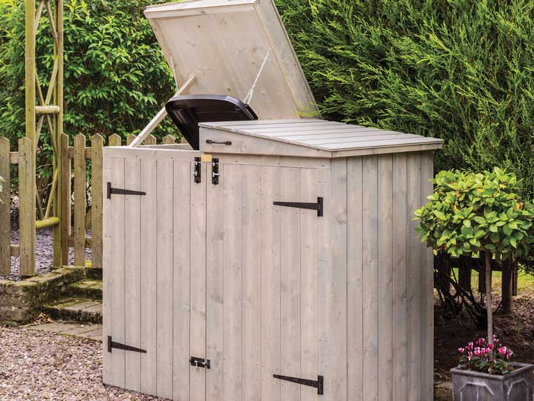 Heritage bin store from B&Q