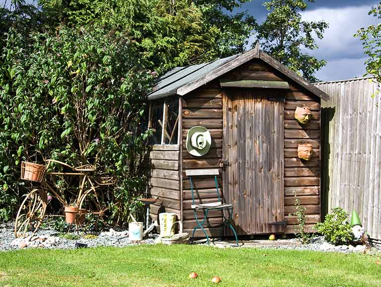 How to improve your garden shed security saga - How to keep intruders out of your garden ...