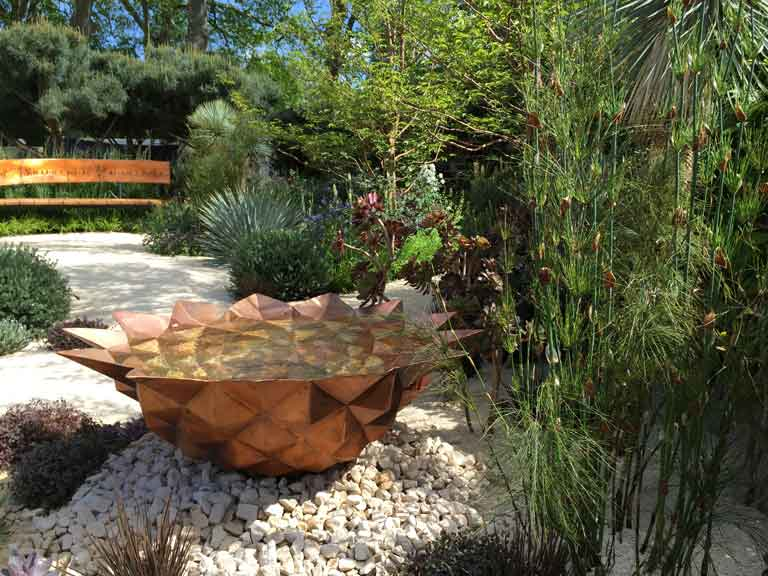 chelsea flower show, Winton Beauty of Mathematics Garden
