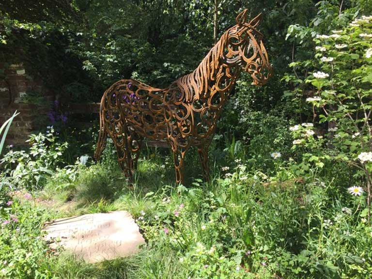 The World Horse Welfare Garden by Adam Woolcott and Jonathan Smith