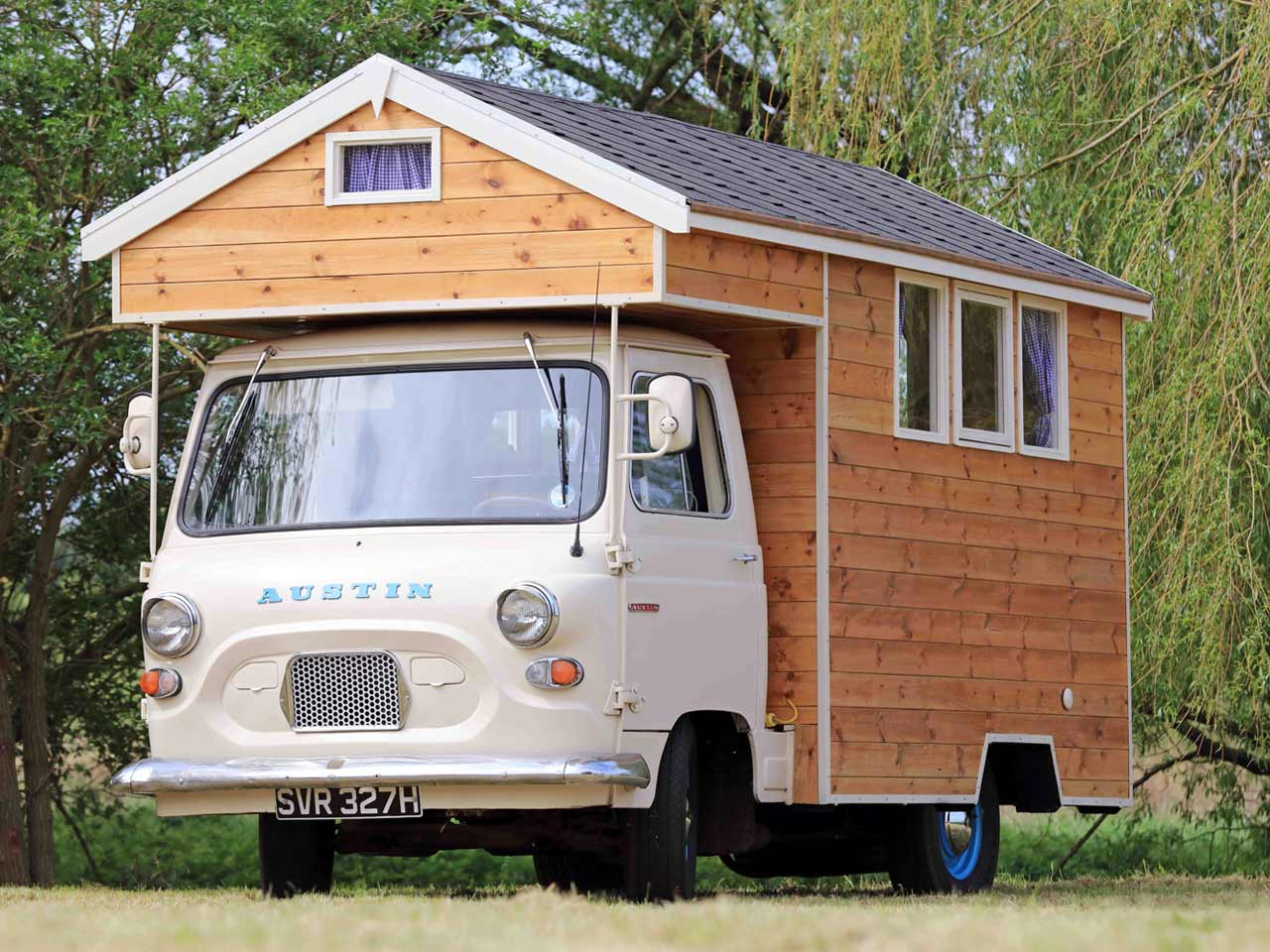 Austin Camper Shed – owned by Stephen Alleyne in Norfolk