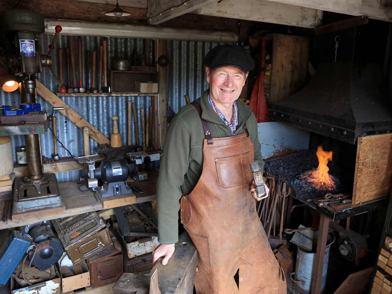 Cowpe Smithy – owned by Robin Sharples in Lancashire