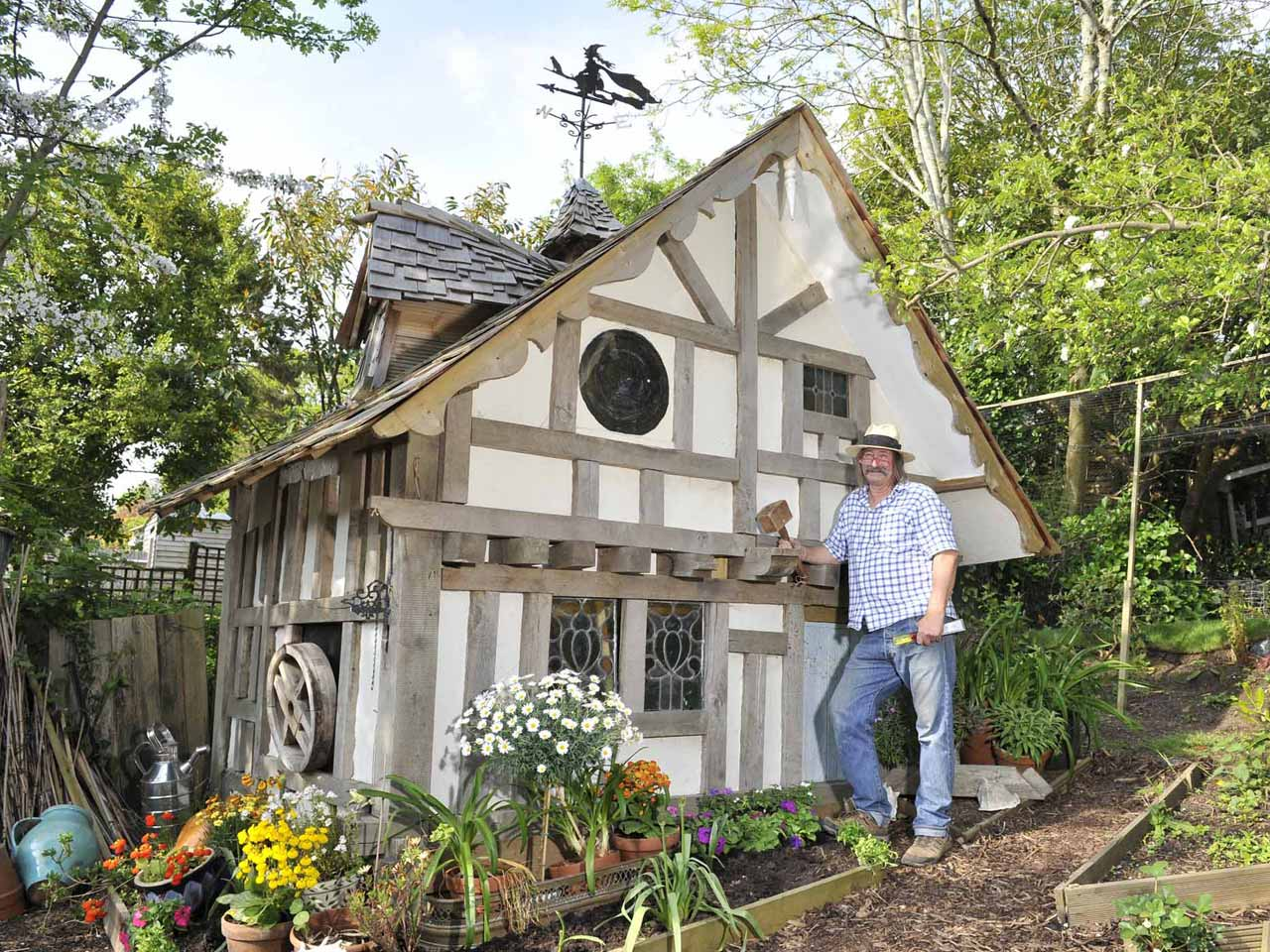 Old Garden Shed – owned by Brian in Hastings
