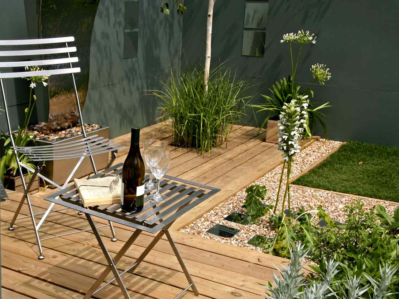 Small garden ideas and inspiration - Saga