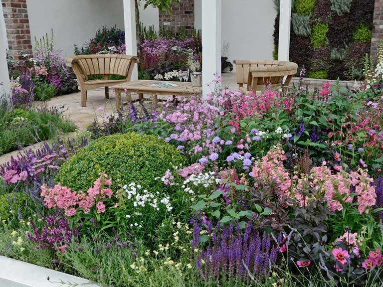 Cottage garden design plants structure proximity saga for Small garden plans uk