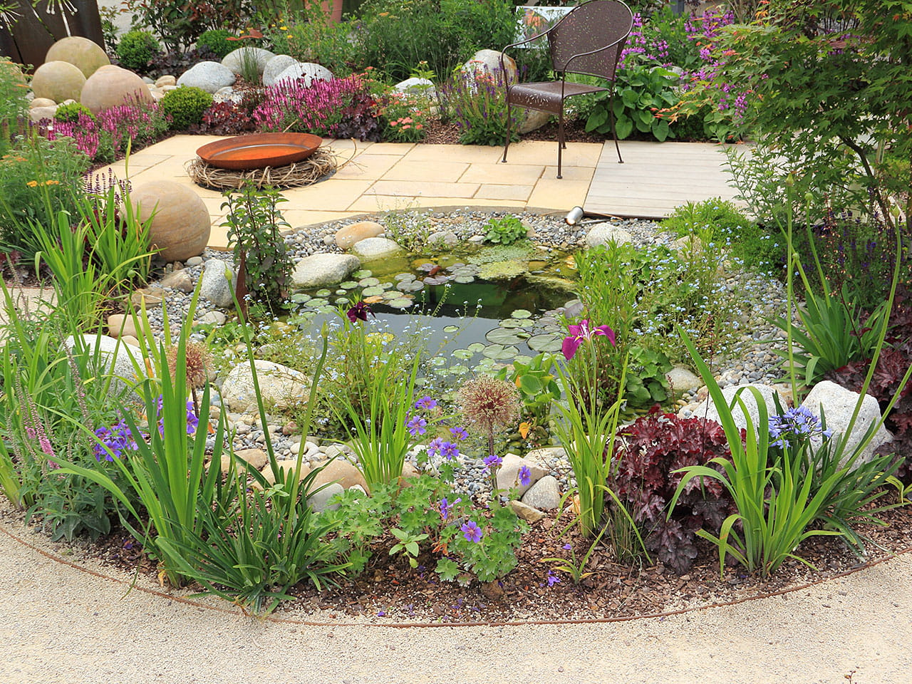 How to design and build a wildlife pond - Saga Natural Garden Designs on mint garden design, subtropical garden design, dry garden design, natural japanese gardens, inexpensive garden design, modern small yard garden design, magic garden design, primitive garden design, different garden design, old-fashioned garden design, natural woodland gardens, color garden design, natural pools and gardens, wine garden design, gorgeous garden design, vegetable garden design, purple garden design, clean garden design, natural propagation, artificial garden design,