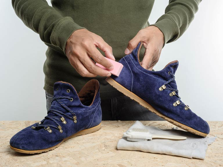 How To Clean Suede Saga