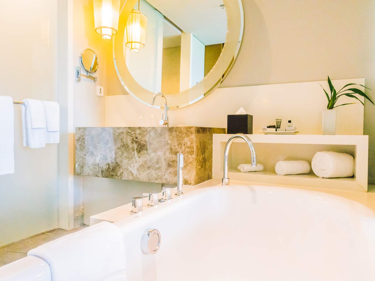 Big ideas for a small bathroom saga for Big bathroom design ideas