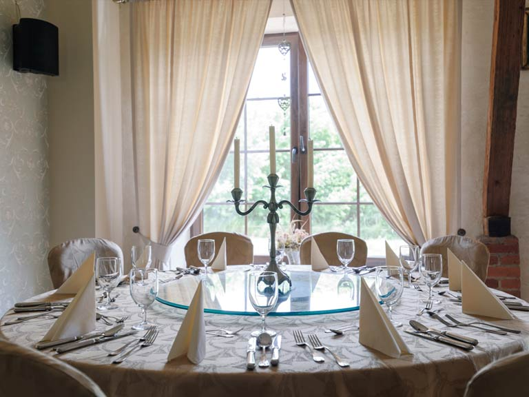 Big dining rooms