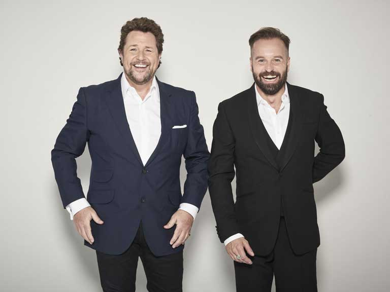Michael Ball and Alfie Boe photographed by Paul Stuart