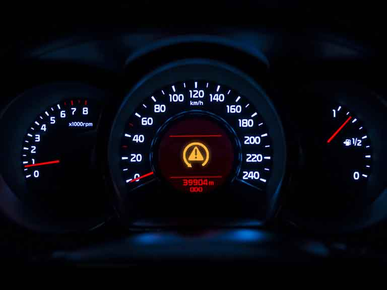 Dynamic stability control (DSC) light