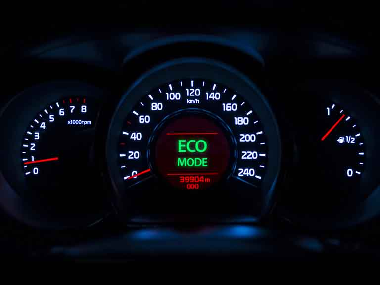 Eco driving light