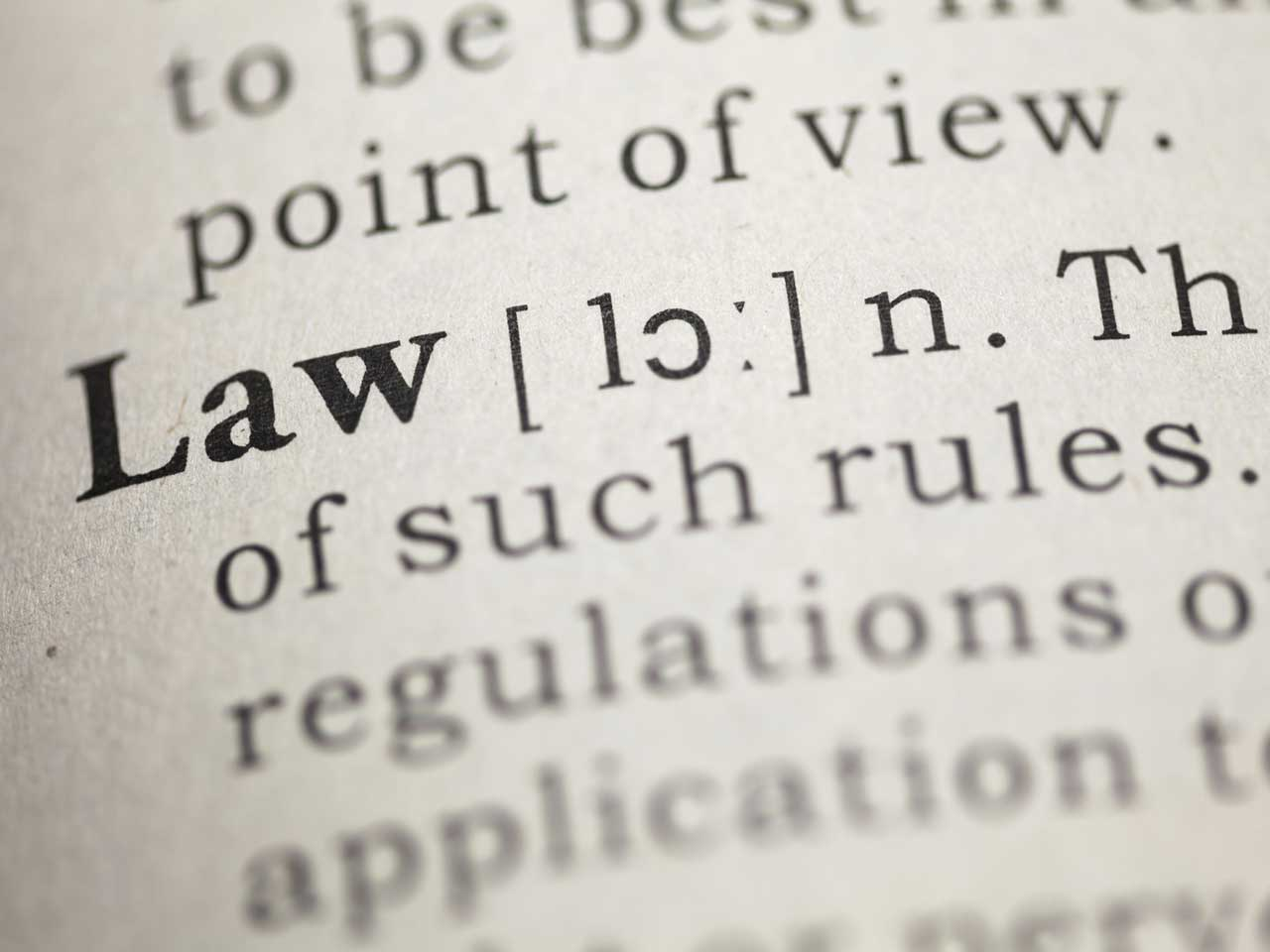 Law  Definition of Law by MerriamWebster