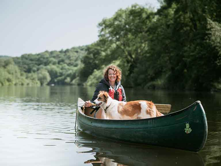 Kate Humble at her home in Wales. Photo by Sean Malyon