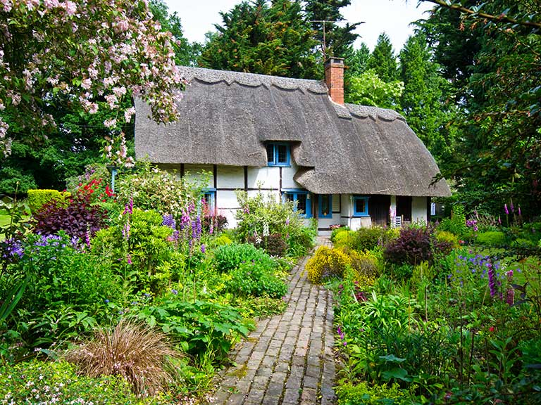 A holiday cottage in England