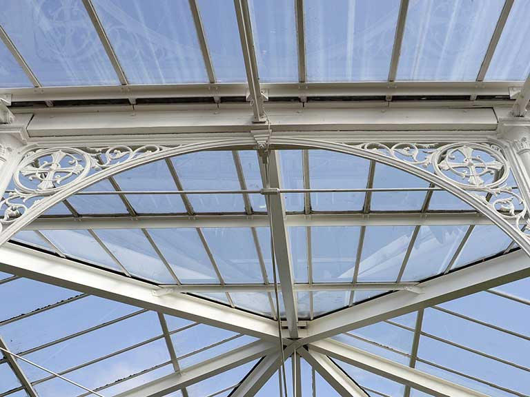A conservatory roof