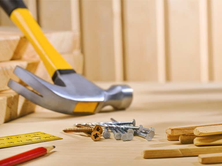 Tools to represent home improvement