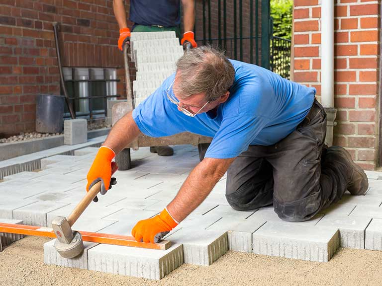 How Much Does It Cost To Lay A Patio Saga - Cost to lay outdoor tiles