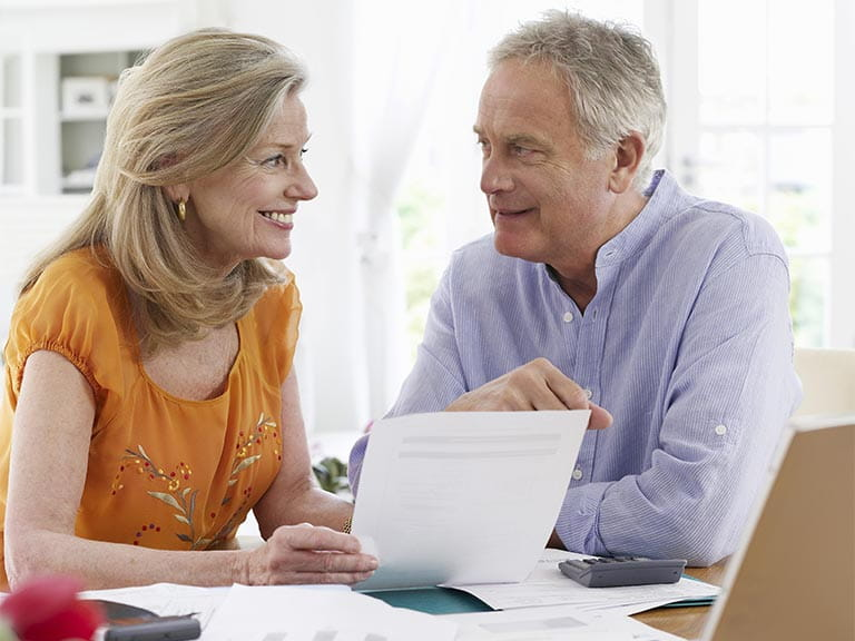 Mature couple considering options