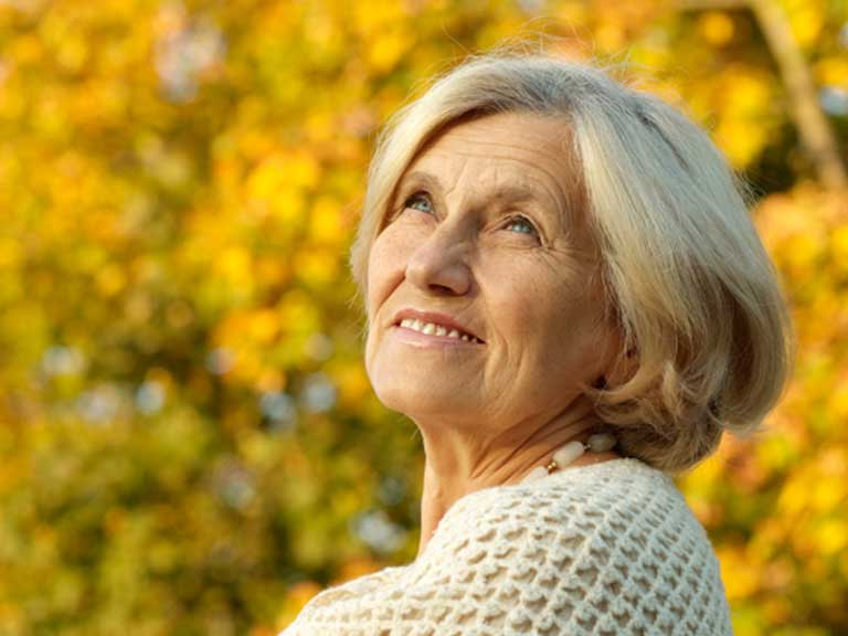 Woman approaching retirement