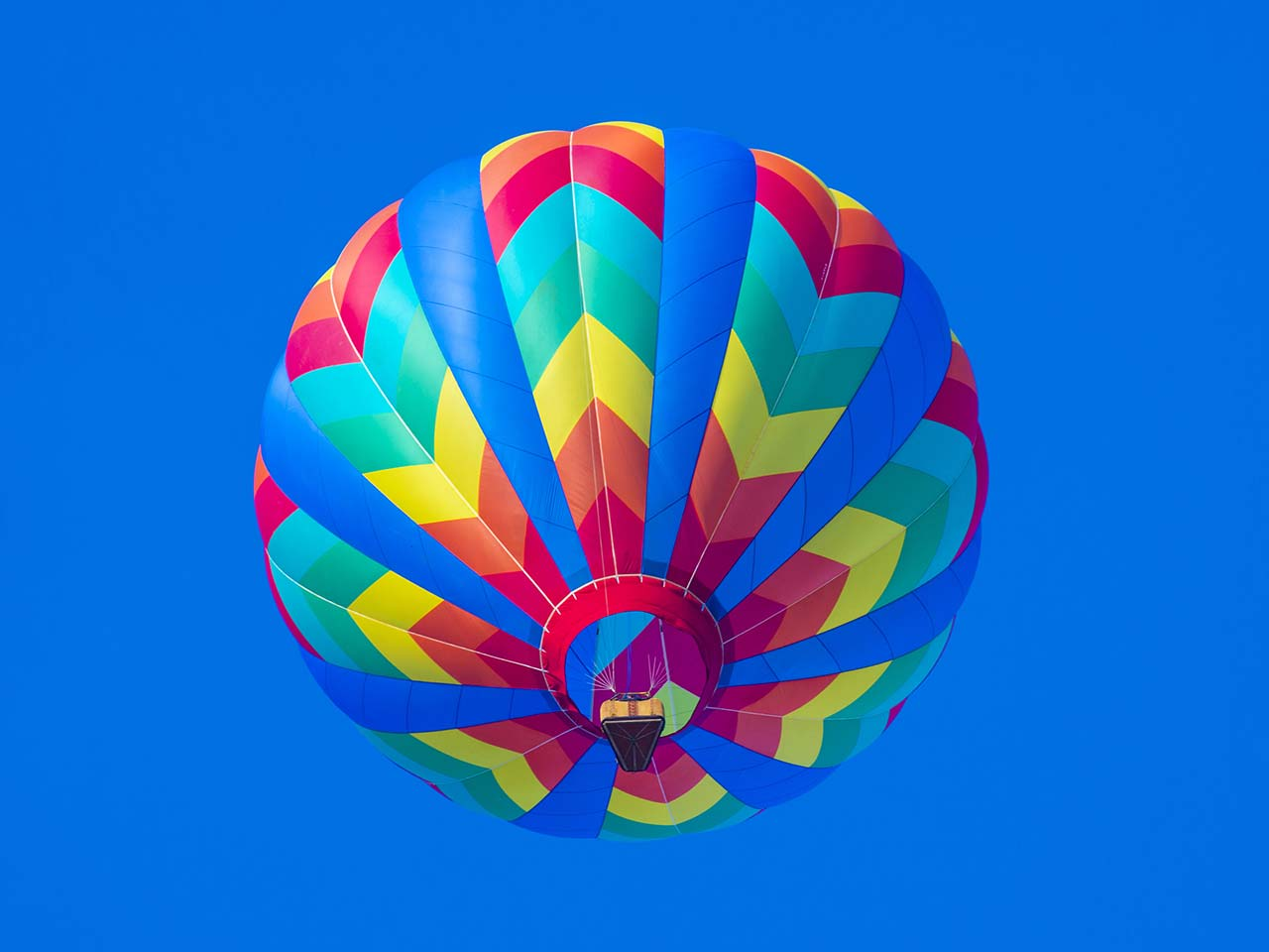 Balloon inflated in flight to represent how a pension could be inflated eg with the married couple pension