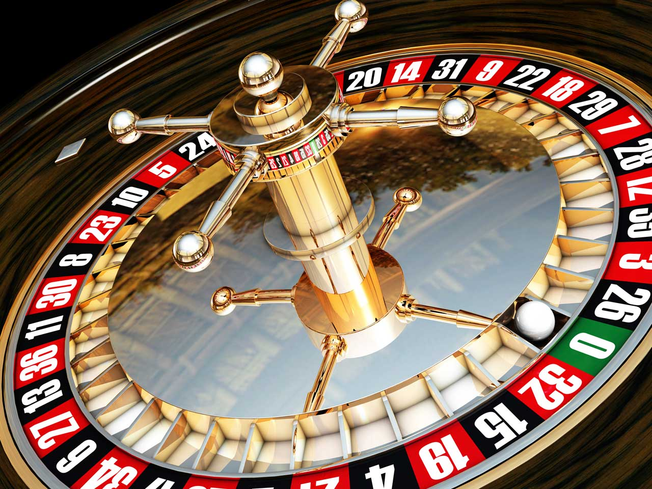 Roulette wheel to represent gambling and risk