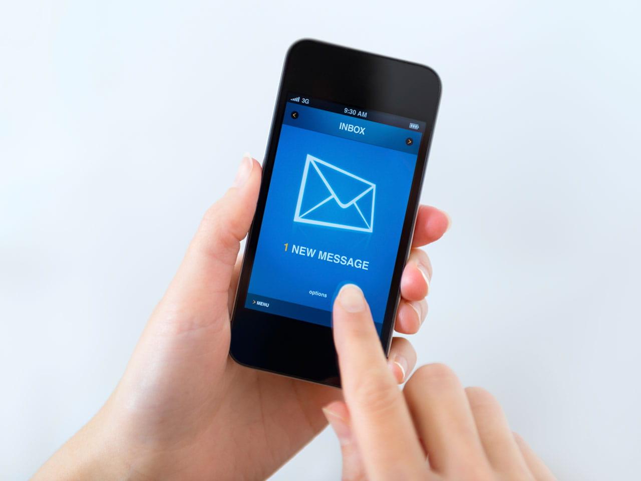 receiving texts - Parfu kaptanband co