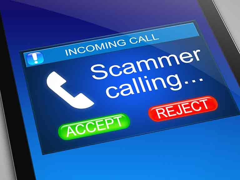 Phone-based scams made up a big chunk of the £768 million of UK financial fraud in 2016.