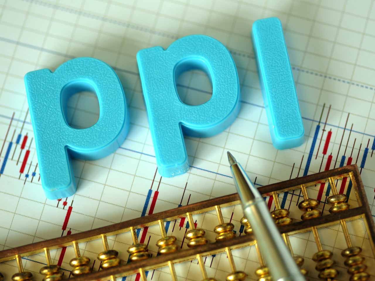 PPI spelt out in plastic letters