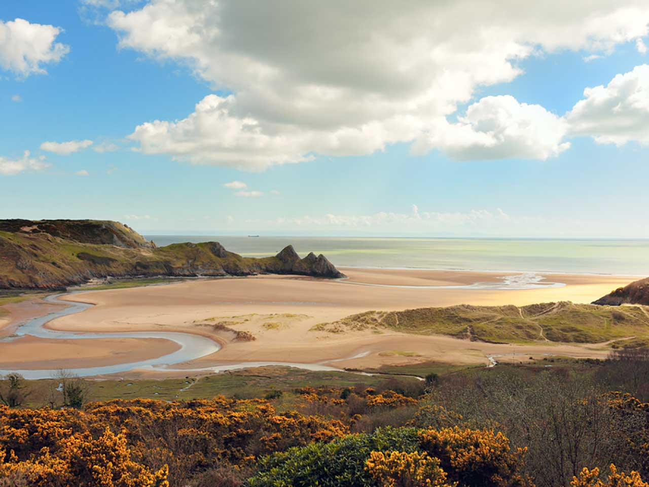 Gower Beach, South Wales