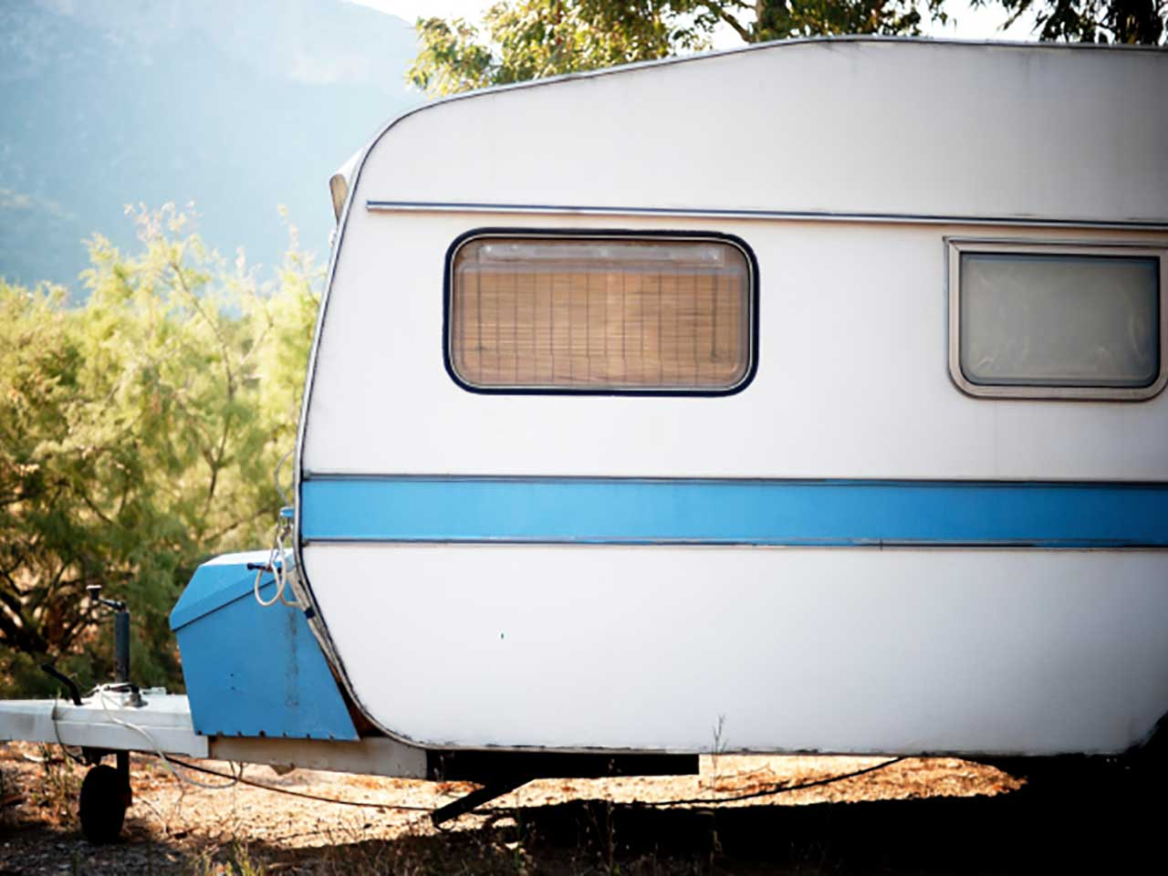 How to prevent damp in caravans - Saga