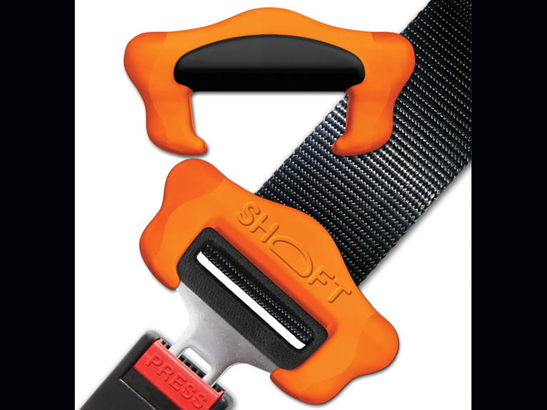SHOFT seat belt clip