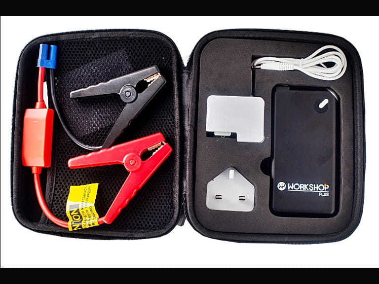 The WorkshopPlus SmartBox is ridiculously small yet packs a 400A punch that is easily enough to start any car fitted with an engine under 3.5-litre