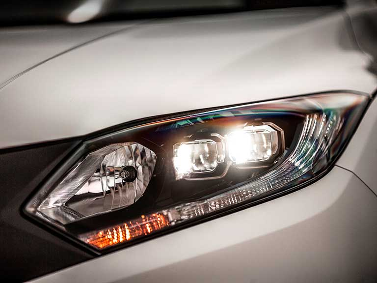 Honda HR-V lights