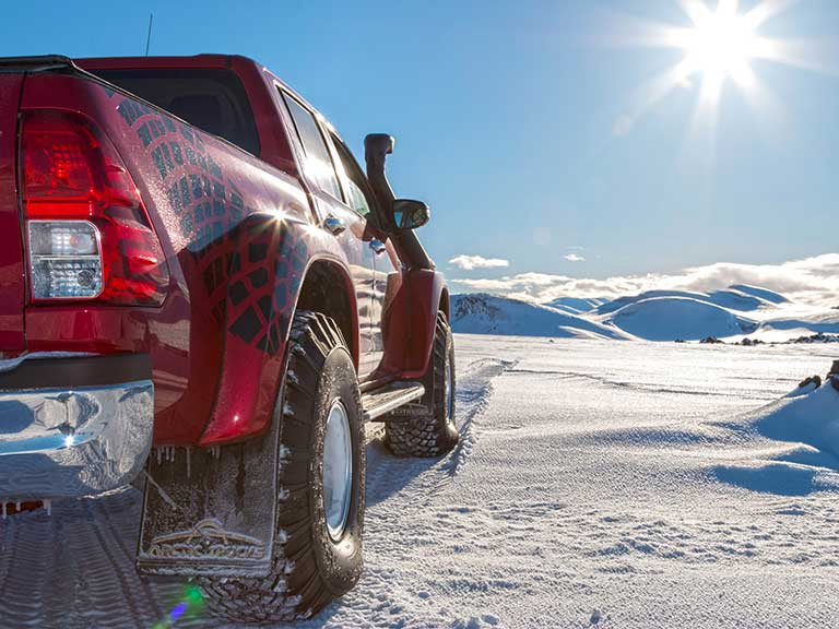 A car review with a difference: Toyota Hilux AT38 by Arctic