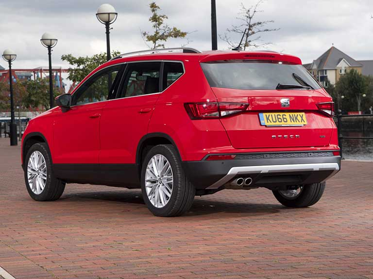 The SEAT Ateca rear