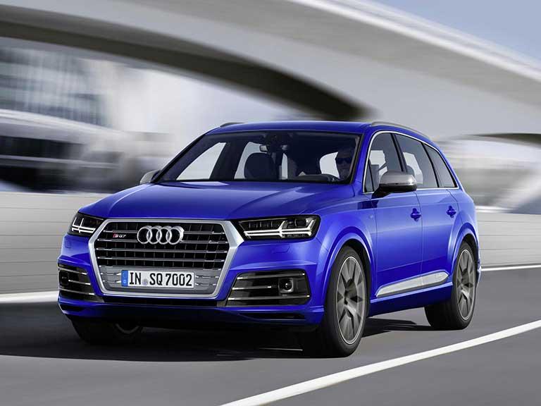 Car Review Audi SQ Saga - All the audi cars